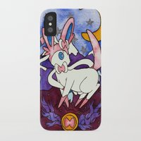 sylveon iPhone & iPod Cases featuring Eeveevolution Series - Sylveon by Jazmine Phillips