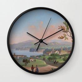 SORRENTO General View Bay of Naples Wall Clock