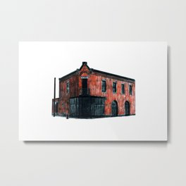 THOMAS O'CONNELL PLUMBING AND HEATING Metal Print