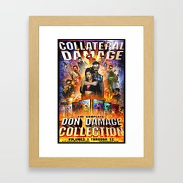 COLLATERAL DAMAGE - The Complete Don Damage Collection Poster Art Framed Art Print