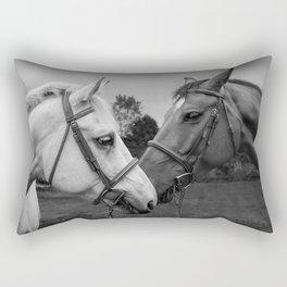 Horses of Instagram II Rectangular Pillow