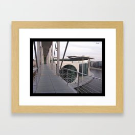 Parliamentary Buildings in Berlin Framed Art Print
