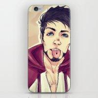 selfie iPhone & iPod Skins featuring SELFIE by FISHNONES