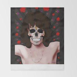 Morrison Skull Throw Blanket
