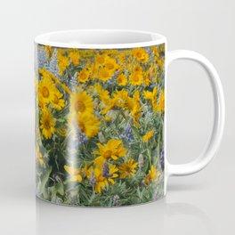 Oregon Spring Wildflower Hillside Coffee Mug