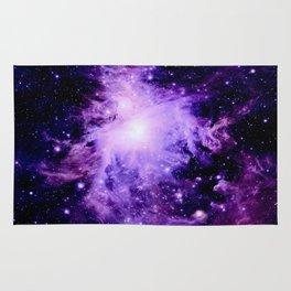 Orion nebUla. : Purple Galaxy Rug