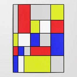 Mondrian #25 Poster