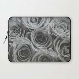 Textured Floral Laptop Sleeve