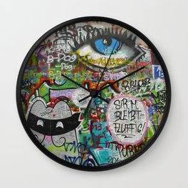 If They Don't Let Us Dream Wall Clock
