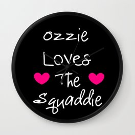 Doctor Who Ozzie Loves The Squaddie Wall Clock