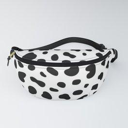 Dalmation Pattern (black/white) Fanny Pack