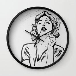 Hermine Wall Clock
