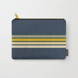Racing Retro Stripes Carry-All Pouch