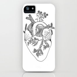 Growing heart iPhone Case