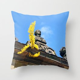 Stonework Throw Pillow
