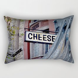 Cheese Sign Rectangular Pillow