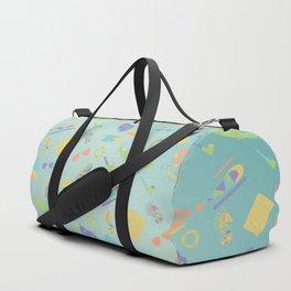 An Aquatic Life Duffle Bag
