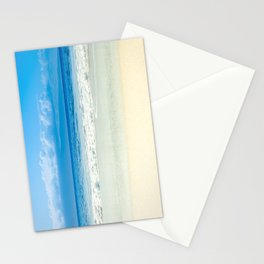 Beach Blue Kapalua Golden Sand Maui Hawaii Stationery Cards