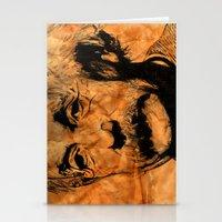 einstein Stationery Cards featuring EINSTEIN by DeMoose_Art