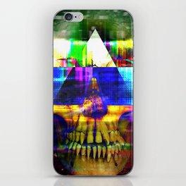 Retro Future Death iPhone Skin