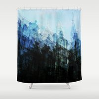 brussels Shower Curtains featuring Brussels 2 by Mina & Jon
