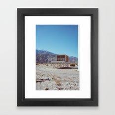 Palm Springs Windmills V Framed Art Print