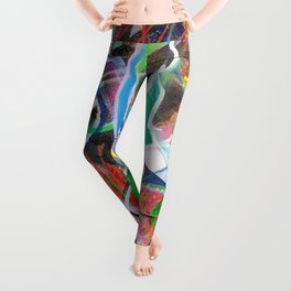 Colorful Abstract 1 Leggings