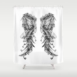 """Collection """" Nightmares"""" impression """"Spirit Wings"""" Shower Curtain"""