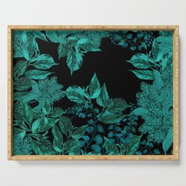 Dark Forest (Emerald / Black) Serving Tray