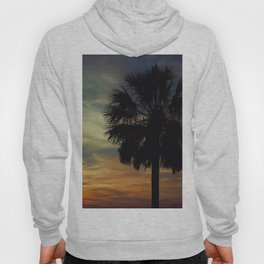 Florida Sunset with Palm Tree Hoody