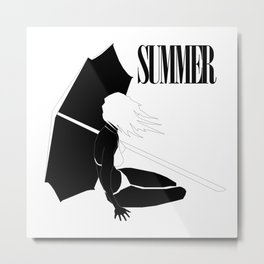 Summer Metal Print