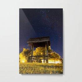Night Sky Picnic- Wanaka Metal Print