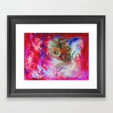 Abstract Owl Framed Art Print