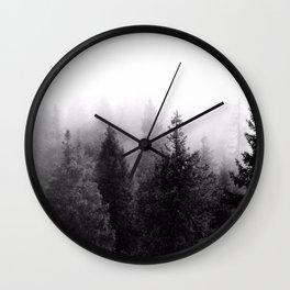 Silent Forest Dark Wall Clock