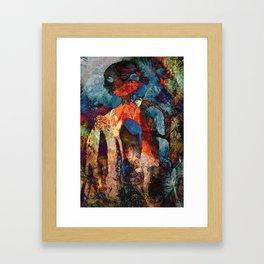 Go Hard Framed Art Print