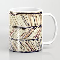 books Mugs featuring books by PureVintageLove