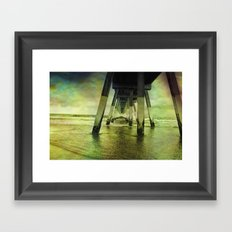 Wrightsville Beach Framed Art Print
