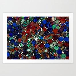 Lost my Marbles Art Print