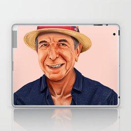 Hipstory - Leonard Cohen Laptop & iPad Skin