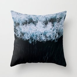 The Color of Water - Seascape Throw Pillow