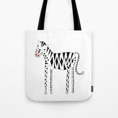 Long legs Zebra Tote Bag