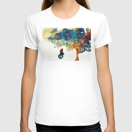 Colorful Landscape Art - The Dreaming Tree - By Sharon Cummings T-shirt
