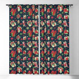 love is a present Blackout Curtain