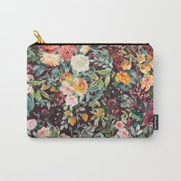 Fall Floral Carry-All Pouch