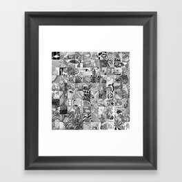 Doodling Together #5 Framed Art Print