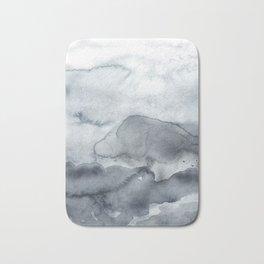 Grey Clouds Bath Mat