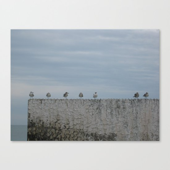 Never A Wall Flower Canvas Print