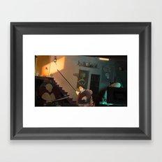 The Basement Dweller Framed Art Print