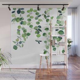 Eucalyptus Watercolor 2  Wall Mural