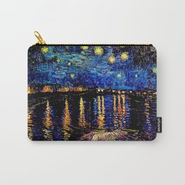 Over the rhone(starry night) Carry-All Pouch